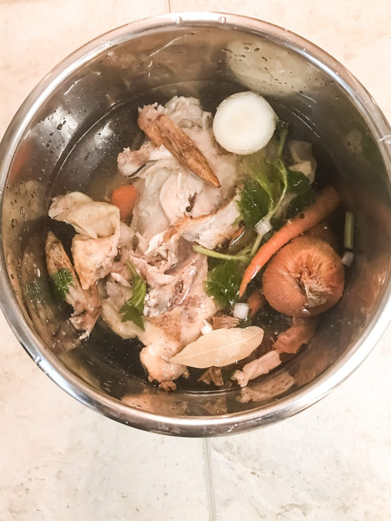 chicken bones in instant pot