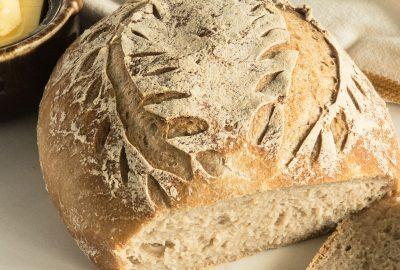 gluten free sourdough bread loaf GF