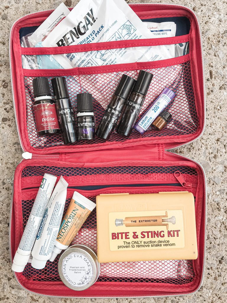 first aid kit for nature exploring