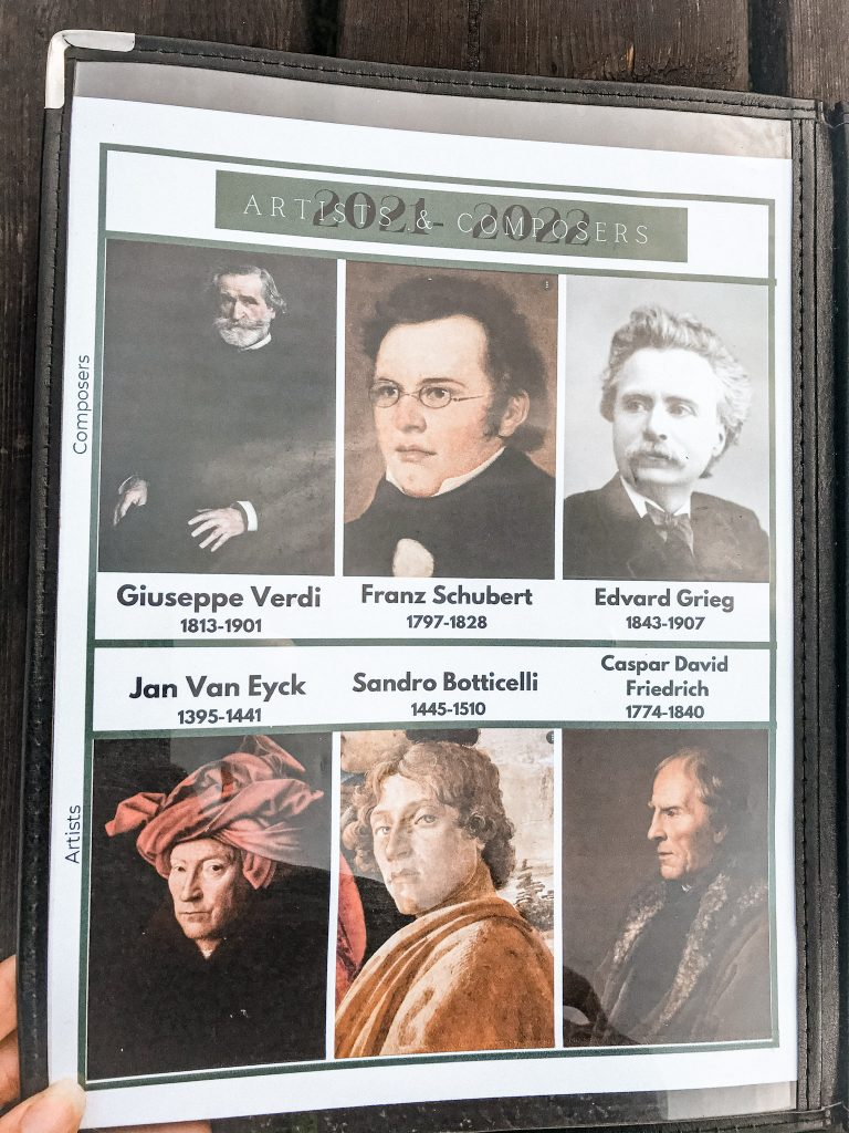 artist and composers