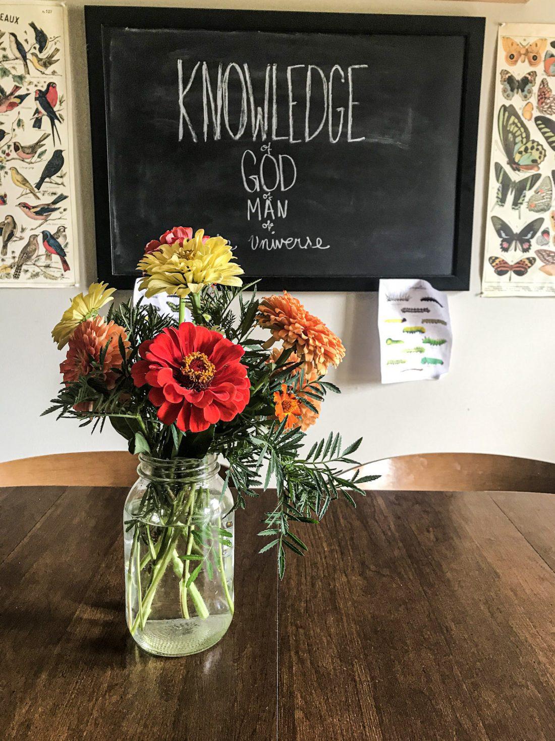 inside an Ambleside Online Homeschool